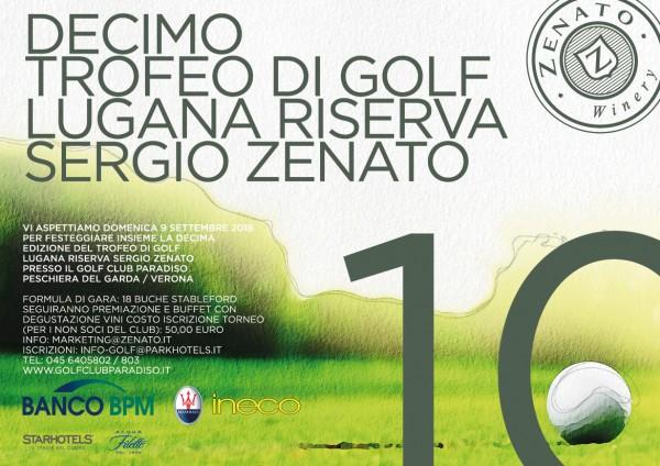 X Trofeo di Golf Lugana Riserva Sergio Zenato