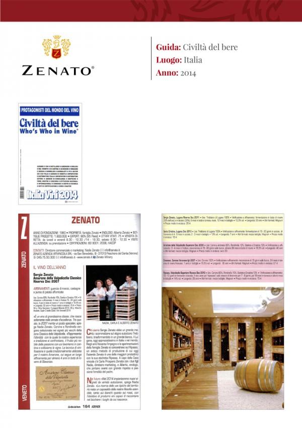 Civiltà del bere Who's Who in Wine - Italia Vini 2014