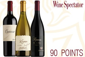 90 points by Wine Spectator for our wines