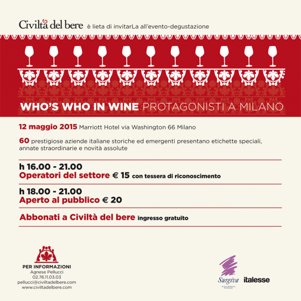 Who's Who in Wine 2015